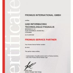 Fronius partnership