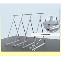 Solar Collector Mounting Kit (3 Collectors) Flat-roof